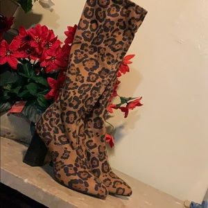 Cheetah boots make you Purrr